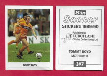 Motherwell Tommy Boyd Scotland 397